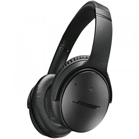 BOSE QC25 QuietComfort 25 aktív zajszűrős fülhallgató Apple eszközökhöz, fekete