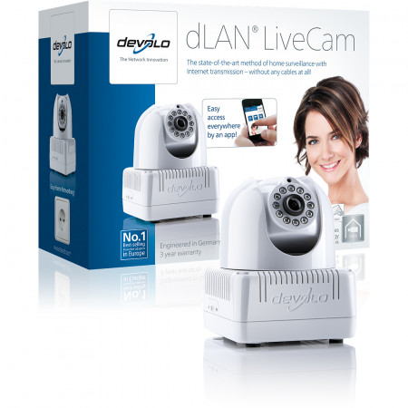 devolo D 1976 dLAN LiveCam Powerline