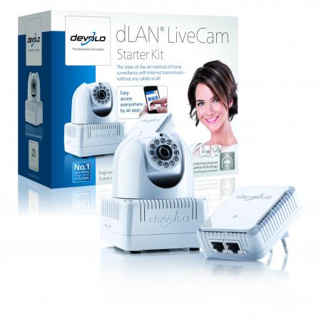 devolo D 9070 dLAN LiveCam Starter Kit Powerline