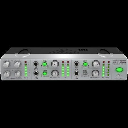 Behringer MINIAMP AMP800 4-Csatornás Sztereo Fejhallgató Erősítő