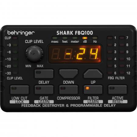 Behringer SHARK FBQ100 Gerjedés Gátló