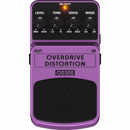 Behringer OVERDRIVE/DISTORTION OD300