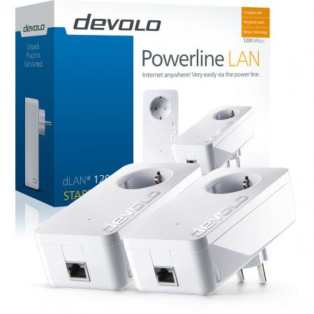devolo D 9382 dLAN 1200+ Starter Kit áramLAN