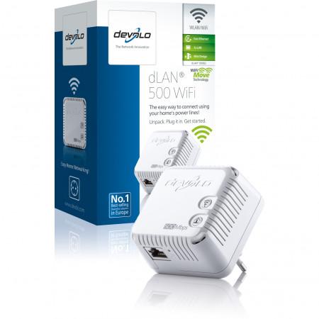 devolo D 9082 dLAN 500 WiFi áramLAN