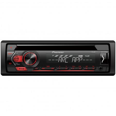 Pioneer DEH-S120UB CD/USB/AUX autóhifi fejegység, piros
