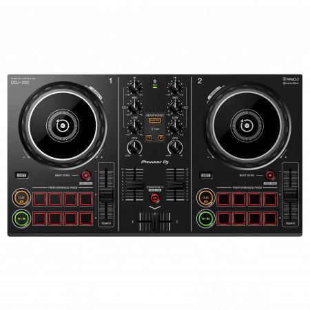 Pioneer DJ DDJ-200 fekete | okos DJ controller