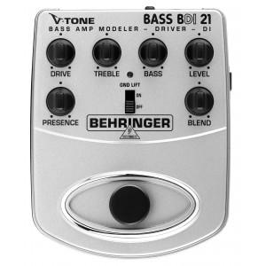Behringer V-TONE BASS DRIVER DI BDI21 Effekt Pedál