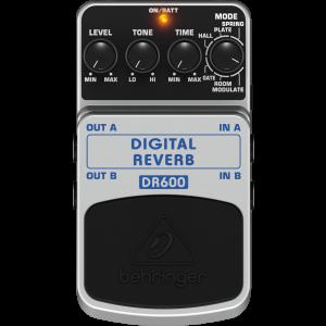 Behringer DR600 Digital Reverb Effekt Pedál
