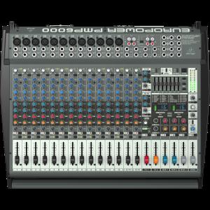 Behringer Europower PMP6000 20-csatornás 1600W Keverőerősítő