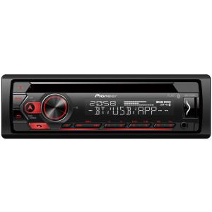 Pioneer DEH-S320BT CD/Bluetooth/USB/AUX autóhifi fejegység