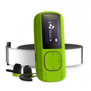 Energy MP3 Clip BT Sport zöld | MP3 lejátszó Bluetooth és FM radióval