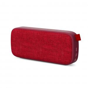Energy Fabric Box 3+ Trend cseresznye | hordozható Bluetooth hangszóró FM rádióval