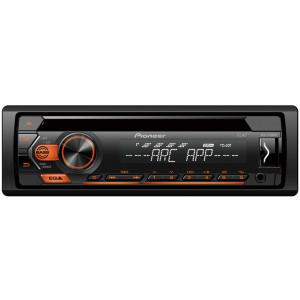 Pioneer DEH-S120UBA CD/USB/AUX autóhifi fejegység, borostyán