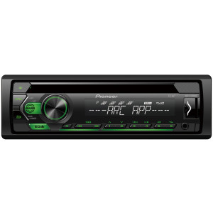 Pioneer DEH-S120UBG CD/USB/AUX autóhifi fejegység, zöld