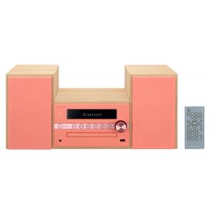 Pioneer X-CM56-R CD/FM/Bluetooth/USB micro Hifi, piros